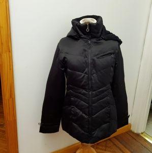 Short DKNY coat.